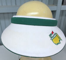 Masters Golf Augusta 2003 Visor Baseball Cap Hat Texace
