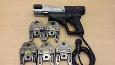 Rems Roller Power-Press ACC Pressmaschine Presszange 5 x V Pressbacken Viega