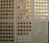 Lincoln Cent Penny Set 1959-2020 Collection (141 Coins) Choice BU Mem & Shield!