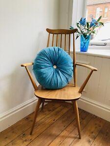 Ercol Quaker Carver Dining Chair - Blonde Elm & Beach Wood - Fully Restored