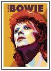 David Bowie Art Print 2016 Ziggy Stardust Art by Daymon Greulich