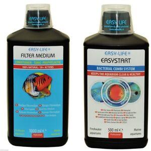 Sparpack 1000 ml Easy LifeFiltermedium FFM + 1000 ml Easy Aquastart Aufbereiter