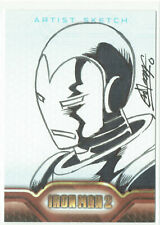 "Iron Man 2 Movie Upper Deck 2010 Sketch Card 1/1 Artist Remy ""Eisu"" Mokhtar"