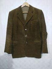 ancien costume homme en velours marron  / B 348 bis