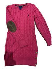 Ralph Lauren Polo Jumper Dress Girl Age 7