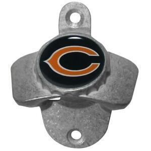 Chicago Bears Wall Mount Bottle Opener, NFL Barware Gifts