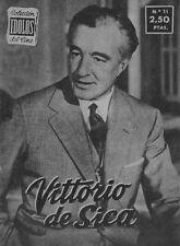 Coleccion Idolos del Cine N° 11/1958 - Vittorio de Sica