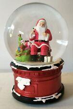 VUE Jingle Bells Santa Making List Snowglobe RRP$59.99