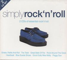 SIMPLY ROCK 'N' ROLL - CD album (2 CDs, 40 tracks)
