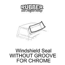 1967 1968 1969 1970 1971 1972 Ford Truck Windshield Seal - NO GROOVE FOR CHROME