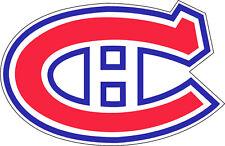 "Vintage Montreal Canadiens NHL Hockey bumper sticker decor vinyl decal, 5""x 3.5"""
