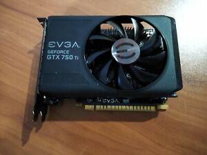 EVGA GeForce GTX 750 Ti 2GB GPU VRAM Graphics Card PC Gaming