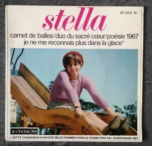 EP Stella - Carnet de balles (Cleo Clothilde, Jacqueline Taieb, Françoise Hardy)