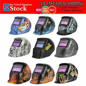 Solar Auto Darkening Welding Helmet TIG MIG Weld Welder Lens Grinding Mask