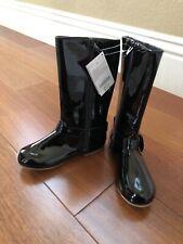 Gymboree Boots - Shiny Black