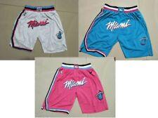Miami Heat Shorts Pink White blue
