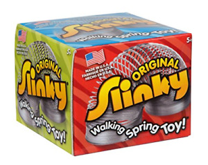 The Original Slinky Brand Collector's Edition Metal Original Slinky Kids Spring