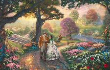 Thomas Kinkade Gone With the Wind replica art print magnet - new!