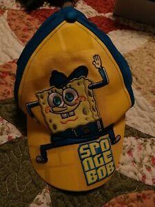 BRAND NEW! NICKELODEON SPONGEBOB SQUAREPANTS BOYS' BASEBALL HAT!