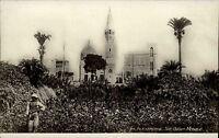 Alexandria al-Iskandariyya Ägypten Egypt alte AK ~1930 Sidi Gaber Mosque Moschee
