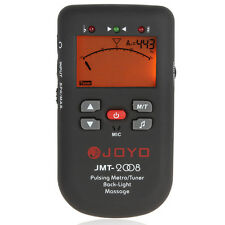 JOYO LCD Backlight Piano Pulsing Metro Metronome Tuner with Massage Function