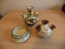 More details for job lot old vintage allervale watcombe torquay studio art motto pottery ware