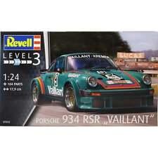 """Revell RR07032 escala 1:24 Porsche 934 RSR """"VAILLANT"""" modelo kit de coche"""