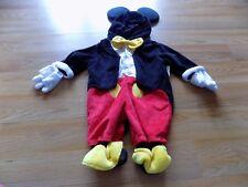 Size 3 Months Disney Baby Tuxedo Mickey Mouse Halloween Costume Orchestra EUC