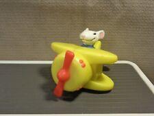 New listing Carl's Jr. 2003 Stuart Little Click N Trick Biplane Airplane Plane Mouse Toy