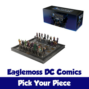 PICK YOUR CHESS PIECE - Eaglemoss DC Comics Hand Painted Figures
