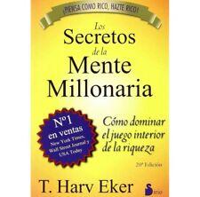 Los Secretos de la Mente Millonaria por T. Harv Eker (Spanish) - NEW Book