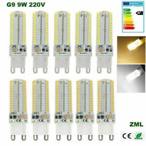 1-10pc G9 LED Bulb 9W Halogen Capsule Light Corn Bulb 220V Energy saving Lamp