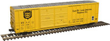 HO-SCALE EAST ST. LOUIS JUNCTION RR DOUBLE DOOR BOX CAR BY ATLAS MODEL RR CO.