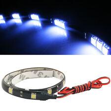 LED strip light Car Auto 5050 12SMD 30cm  flexibles LED Chip White waterproof