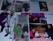 Elton John 41 pc German Clippings Collection Full Pages