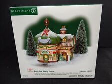 Department 56 Lighted Building ~ North Pole ~ Beauty Shoppe ~ 05733