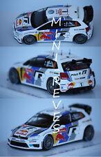 Spark Volkswagen Polo WRC Monte Carlo 2013 S. Ogier 1/43 S3359