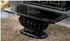 ITALIAN COFFEE TABLE NEW BLACK OR CREAM