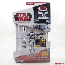 Star Wars The animated Clone Wars Clone Commander Stone CW44 2009 action figure