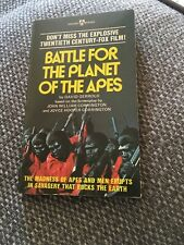 Battle For The Planet Of The Apes David Gerrold Award Books