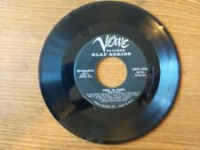 1955 VG+ RARE Count Basie Orchestra Roll 'Em Pete / April In Paris  89162X45 45