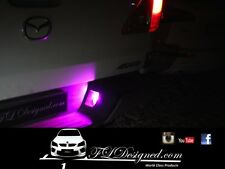 Mazda bt50 PINK L.e.d numberplate bulbs 2012- 2017 by FLDesigned