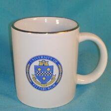 Coffee/Tea Mug Vintage Blue and Gold University of Pittsburgh Pitt