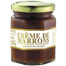 Corsiglia Artisanal Chestnut Cream (Creme de Marrons) from France, 220g Jar