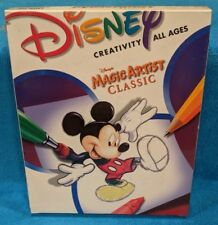 Disney's Magic Artist classic (CD-ROM, 1999)  Box Case - Factory Sealed