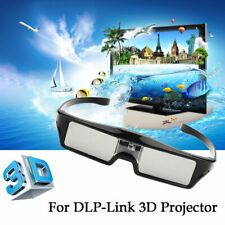 Active Shutter 3D Glasses for EUG CAIWEI DLP- Link projector USB Rechargeable