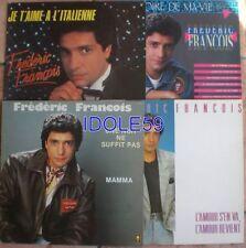 Lots de Disques vinyles 33 tours pour chanson française avec compilation
