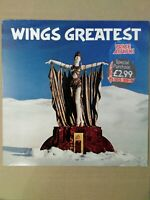 Wings  – Wings Greatest Parlophone – PCTC 256 Vinyl, LP, Compilation EX+ EX