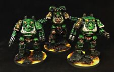 Salamanders Contemptor Dreadnought 3 pack Pro-painted Warhammer 40k/ 30k