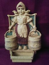 Vintage Dutch Girl Door Stop/ Book End